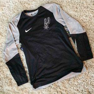 Nike X NBA San Antonio Spurs Warm Up AJ5410-010 S